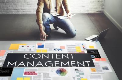 Content management image